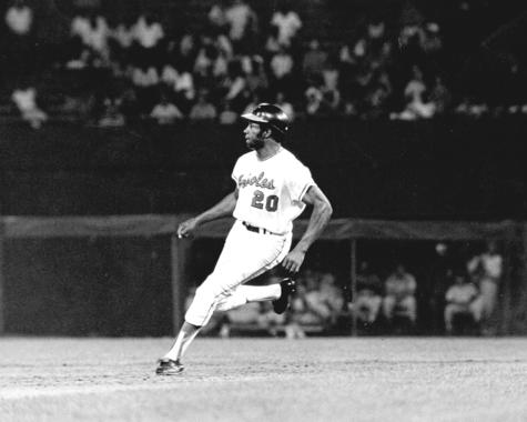 Frank Robinson played for the Baltimore Orioles from 1966-71. (National Baseball Hall of Fame and Museum)