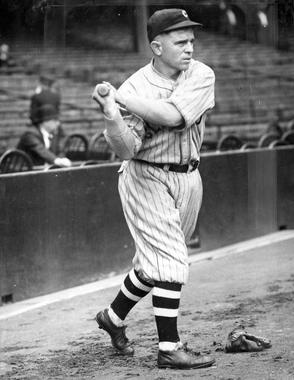 Hall of Famer Joe Sewell was called up to play for the Cleveland Indians in 1920, to replace shortstop Ray Chapman who had been killed by a pitch in August of that year. (Charles Conlon / National Baseball Hall of Fame)