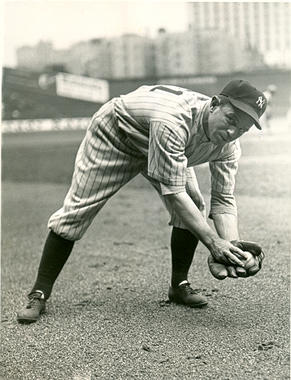 Joe Sewell played for the New York Yankees from 1931-1933. (National Baseball Hall of Fame)