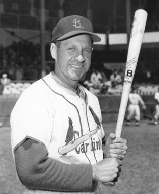 Enos Slaughter played 19 seasons in the big leagues, earning 10 All-Star Game berths and four World Series rings. (National Baseball Hall of Fame and Museum)