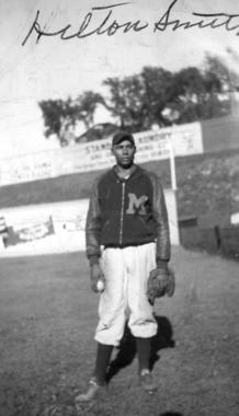 Hilton Smith threw a no-hitter for the Kansas City Monarchs of the Negro American League on May 16, 1937. He was elected to the Hall of Fame in 2001. (National Baseball Hall of Fame and Museum)
