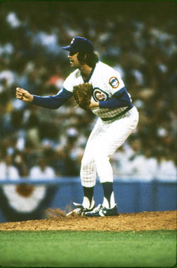 Bruce Sutter spent his first five big league seasons with the Cubs before being traded to the Cardinals following the 1980 season. Sutter helped lead the Cardinals to the World Series title in 1982. (National Baseball Hall of Fame and Museum)