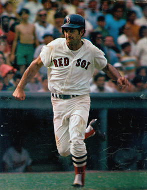 In 1968, Carl Yastrezmski hit .301 – becoming the only AL player to reach the .300 mark in the Year of the Pitcher. (National Baseball Hall of Fame and Museum)