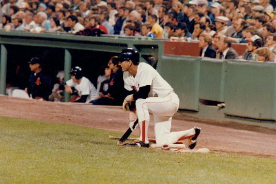 Carl Yastrzemski played played 23 seasons with the Red Sox, totaling 3,419 hits and 452 home runs. (National Baseball Hall of Fame and Museum)