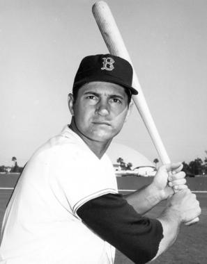 Carl Yastrzemski missed out on a unanimous MVP selection by only one vote in 1967 as he took home the American League MVP Award on Nov. 15, 1967. (National Baseball Hall of Fame and Museum)