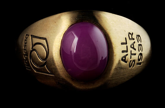 Commemorative ring from the 1933 All-Star Game presented to Charles Gehringer. B-249.95 (Milo Stewart, Jr. / National Baseball Hall of Fame)