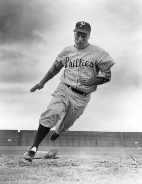 Philadelphia Phillies outfielder Richie Ashburn - BL-4839-69 (National Baseball Hall of Fame Library)
