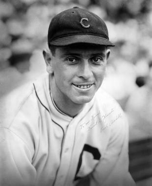 Earl Averill of the Cleveland Indians (Forrest S. Yantis/National Baseball Hall of Fame Library)