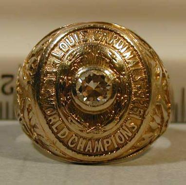 Grover Cleveland Alexander, World Series ring, 1926 St. Louis Cardinals - B-342-72  (Milo Stewart Jr./National Baseball Hall of Fame Library)