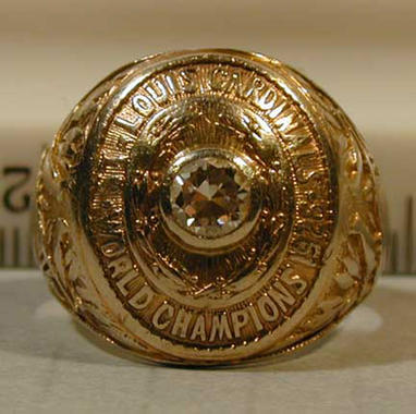 Grover Cleveland Alexander, World Series ring, 1926 St. Louis Cardinals - B-342-72  (Milo Stewart Jr./National Baseball Hall of Fame Library)
