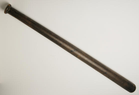 Bat used by Honus Wagner of the Pittsburgh Pirates. - B-2.39 (Milo Stewart, Jr. / National Baseball Hall of Fame)