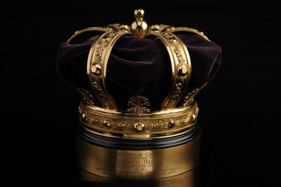 Seagram crown given to