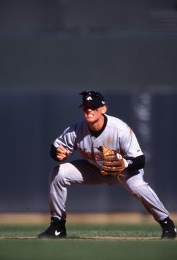 Craig Biggio of the Houston Astros - BL-12-2012-133 (Brad Mangin/National Baseball Hall of Fame Library)