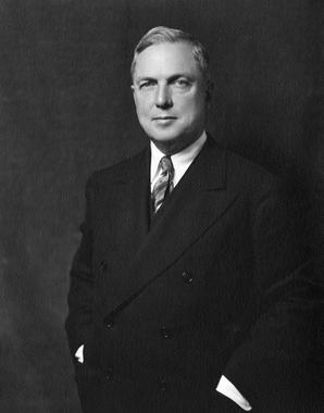 Sam Breadon served as the president and majority owner of the St. Louis Cardinals from 1920 to 1947. BL-405.54 (National Baseball Hall of Fame Library)