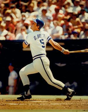 George Brett, Kansas City Royals - BL-2401-81 (National Baseball Hall of Fame Library)