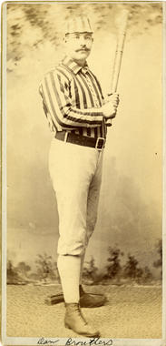 Dan Brouthers - BL-185-57 (W. Smith/National Baseball Hall of Fame Library)