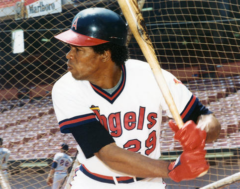 Rod Carew, California Angels - BL-2871-82 (National Baseball Hall of Fame Library)
