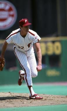 Steve Carlton, Philadelphia Phillies, 1985 - BL-165-2009-48 (Michael Ponzini/National Baseball Hall of Fame Library)