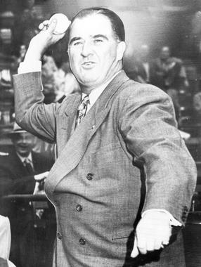 Happy Chandler, commissioner of baseball - BL-4330-88 (National Baseball Hall of Fame Library)