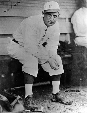 Fred Clarke, Pittsburgh Pirates, 1912 - BL-2431-79 (National Baseball Hall of Fame Library)