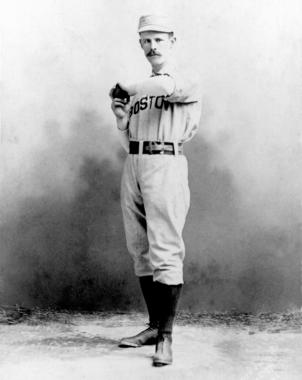 John Clarkson, Boston, 1888 - BL-4374-70 (National Baseball Hall of Fame Library)
