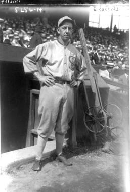 Eddie Collins, shown as a member of the Chicago White Sox - BL-10390-94 (National Baseball Hall of Fame Library) <a href='http://bhof-staging.cogapp.com/node/458' target='new'>View larger</a>