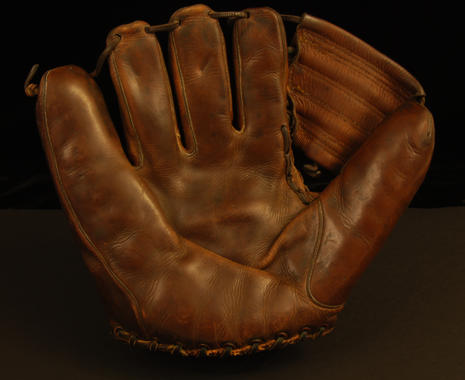 Glove used by James