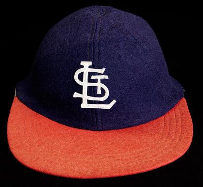 St. Louis Stars cap worn by James