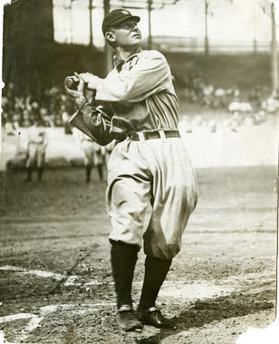 Sam Crawford, Detroit Tigers - BL-1455-68WTJ (National Baseball Hall of Fame Library)