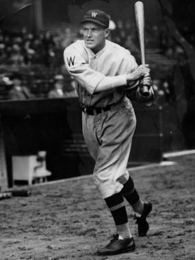 Joe Cronin, shown as a member of the Washington Senators - BL-1456-68 (National Baseball Hall of Fame Library)
