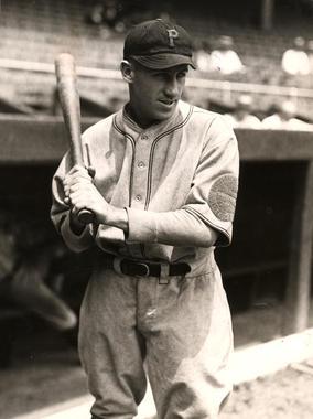 Kiki Cuyler, Pittsburgh Pirates, 1925 - BL-1516-68WTO (National Baseball Hall of Fame Library)