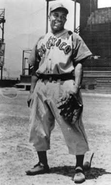 Ray Dandridge, shown as a member of the Mexico City Diablos Rojos - BL-3915-89 (National Baseball Hall of Fame Library)
