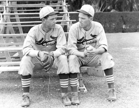 Daffy and Dizzy Dean of the St. Louis Cardinals. - BL-3067-71 (National Baseball Hall of Fame Library)