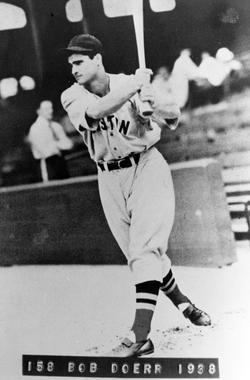 Bobby Doerr, Boston Red Sox, 1938 - BL-6328-88 (National Baseball Hall of Fame Library)