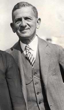 Barney Dreyfuss, Pittsburgh Pirates owner - BL-421-77 (National Baseball Hall of Fame Library)