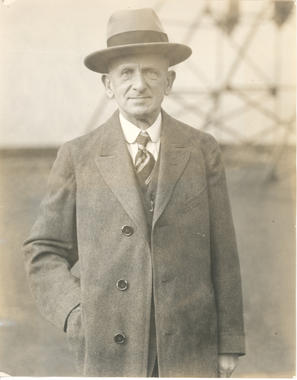 Barney Dreyfuss, Pittsburgh Pirates owner - BL-1635-2002 (National Baseball Hall of Fame Library)