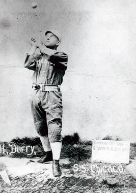 Hugh Duffy, Chicago, National League - BL-732-86 (National Baseball Hall of Fame Library)