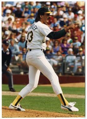 Dennis Eckersley, Oakland A's - 045 (Doug McWilliams/National Baseball Hall of Fame Library)
