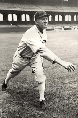 Red Faber, Chicago White Sox - BL-409-63a (National Baseball Hall of Fame Library)