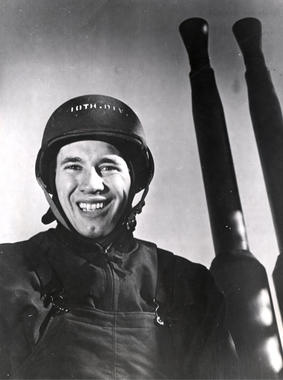 Bob Feller as Chief Specialist in the Navy in 1943. BL-4482.68HTC