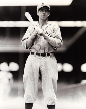 Rick Ferrell with bat on shoulder as St. Louis Brown, c. 1930 - BL-631-97 (PhotoFile/National Baseball Hall of Fame Library)