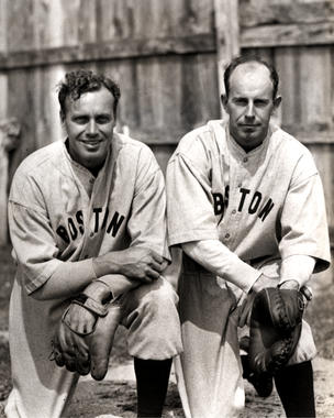 Wesley and Rick Ferrell of the Boston Red Sox. - BL-6462-70 (National Baseball Hall of Fame Library)