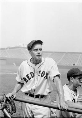 Wes Ferrell was traded to the Boston Red Sox by the Cleveland Indians in 1934. BL-4719.73.4 (National Baseball Hall of Fame Library)
