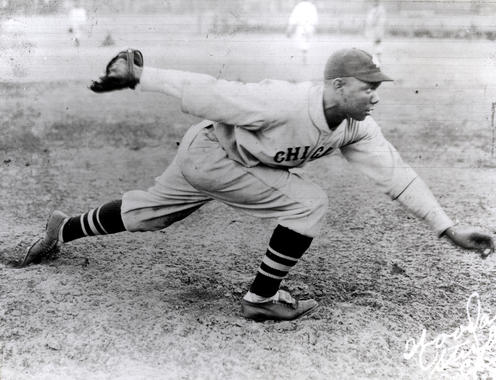 Bill Foster with the Chicago American Giants - BL-794-97 (National Baseball Hall of Fame Library)