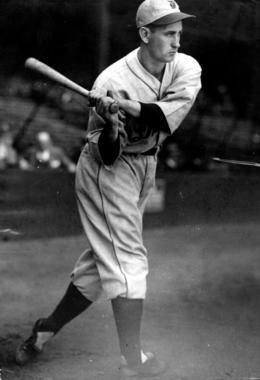 Charlie Gehringer, Detroit Tigers, 1930 - BL-777-46 (Charles Conlon/National Baseball Hall of Fame Library)