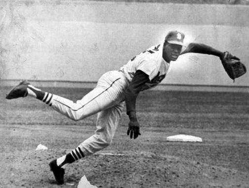 St. Louis Cardinals' Bob Gibson - BL-5655-70 (National Baseball Hall of Fame Library)