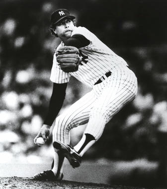 Goose Gossage, pitching for the New York Yankees - BL-6326-89 (National Baseball Hall of Fame Library)
