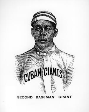 Cuban Giants' Frank Grant,