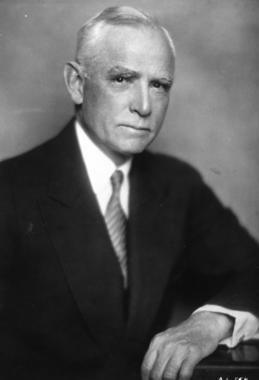 Clark Griffith, owner of the Washington Senators - BL-3835-74 (National Baseball Hall of Fame Library)