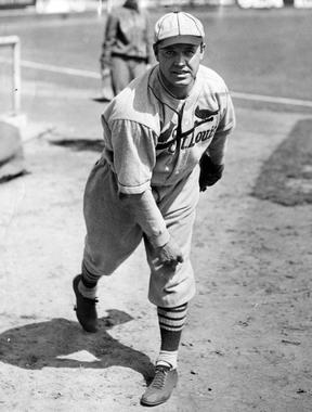 St. Louis Cardinals' Burleigh Grimes, 1931 - BL-517-68 (National Baseball Hall of Fame Library)